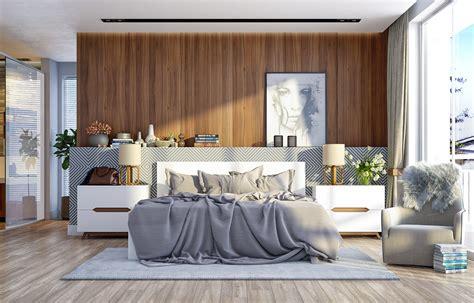 ways    statement  wood walls   bedroom