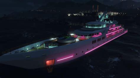 Yacht Gta Online by Gta Online S New Yacht Modded Into Single Player Gta 5