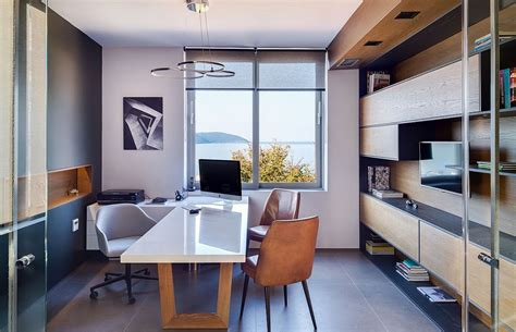 small architectural office   view   ionian sea