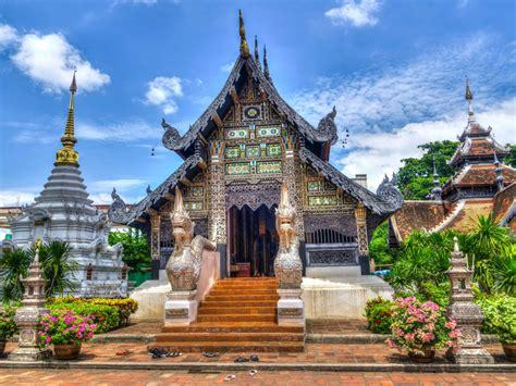 chiang mai  city bangkok thailand black  brown castle hd wallpaper   mobile