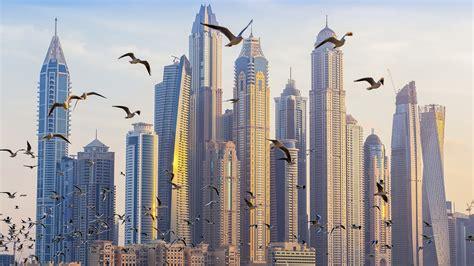 architecture Building Skyscraper Cityscape United Arab
