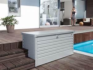 Auflagenbox Holz Wasserdicht : die freizeitbox von biohort auflagenbox gartenbox biohort produkte pinterest ~ Whattoseeinmadrid.com Haus und Dekorationen