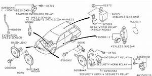 2001 Subaru Outback Parts Diagram