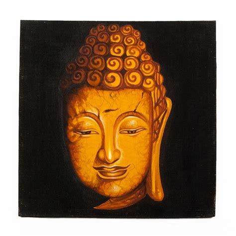 buddha bild leinwand wandbild buddha 60x60cm auf leinwand handmade 7014