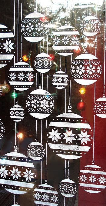 christmas bauble theme pack stencil henny donovan motif