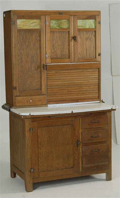 HOOSIER CABINET in oak. By Boone Kitchen Cabinets. Upper cas