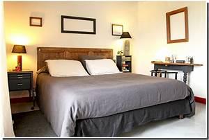 Modele Deco Chambre : deco chambres parents ~ Teatrodelosmanantiales.com Idées de Décoration
