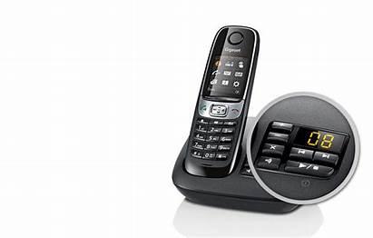 Gigaset Telefony Bezprzewodowe C620 Weiss Schnurlostelefone Cordless