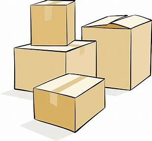 7  Boxes Clipart