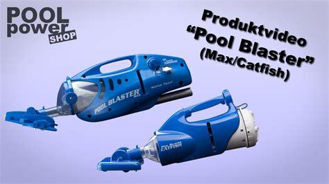 pool power shop akkubetriebener poolsauger quot pool blaster max catfish quot