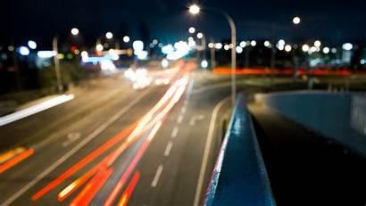 Busy Keren Jalanan Night Lights Bokeh Pc