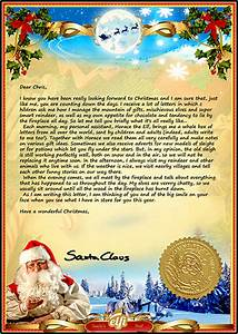 letter from santa a personalised santa letter just for you With santa letters from north pole uk