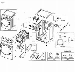 Samsung Model Dv42h5000gw  A3