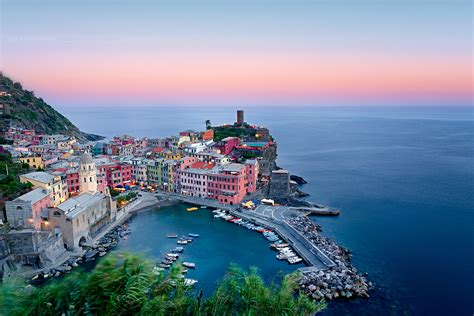 Cinque Terre Point Levanto Fs Levanto Sp Italy Sunrise