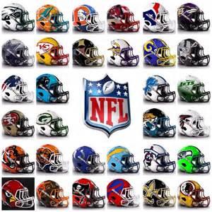 All 32 NFL Teams Helmets