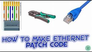 How To Make Connector Rj45 For Utp Cable Bangla Tutorial
