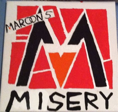 maroon 5 misery maroon 5 misery single art artwork by casey lee my own