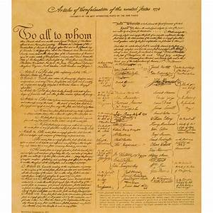 Articles of Confederation of the United States - 1778 ...