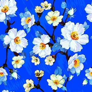 Seamless Floral Wallpapers | Floral Patterns | FreeCreatives