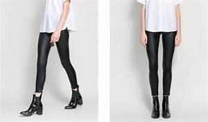 Leather Leggings Zara - Trendy Clothes