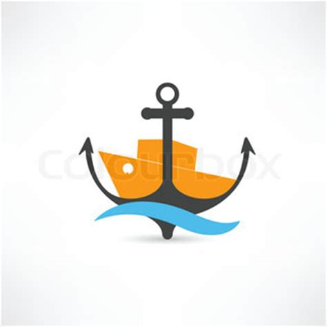 Sinking Boat Icon by Sinking Ship Vector Colourbox