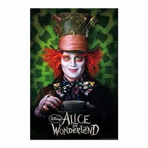 Hutmacher Alice Im Wunderland : alice im wunderland poster mit dem verr ckten hutmacher bei close up ~ Watch28wear.com Haus und Dekorationen