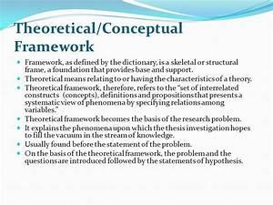Dissertation Theoretical Framework Order Custom Essay Writing Online