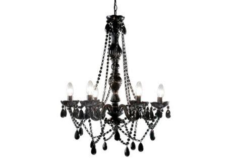 lustre baroque noir dekoration mode fashion