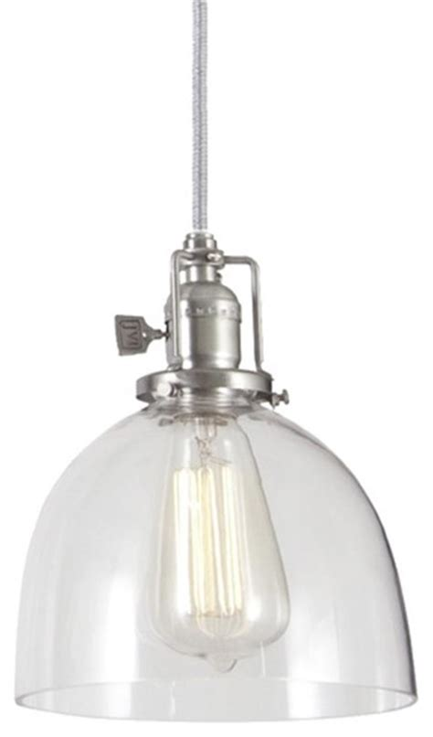 clear glass dome industrial pendant pendant lighting