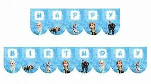 Joyeux Anniversaire Reine Des Neiges : kit anniversaire la reine des neiges ~ Melissatoandfro.com Idées de Décoration