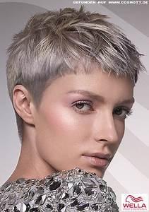 frisuren kurz grau