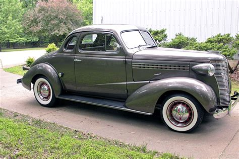 A 1938 Chevy Business Coupe That Nails The Restorod Look