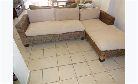 canape en osier canapé d 39 angle osier annonce meubles et décoration