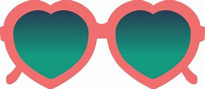 Sunglasses Heart Svg Cut Stencil Snap Cart