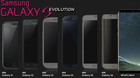 samsung galaxy s history evolution 2010 2017 youtube