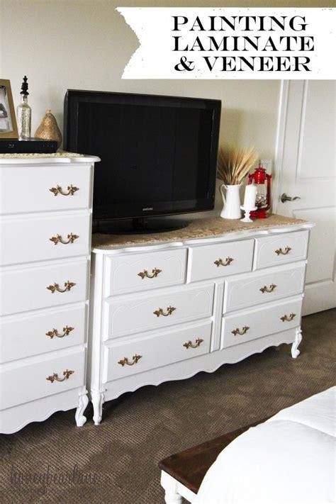 painting veneer furniture ideas  pinterest
