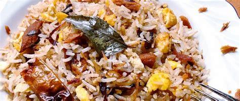 cours de cuisine ile maurice île maurice recette le plat du riz frit poisson salé un