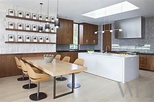 Eclairage Moderne : ambiance cosy par le luminaire led dans une cuisine moderne design feria ~ Farleysfitness.com Idées de Décoration