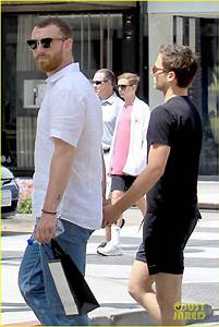 Sam Smith & Brandon Flynn Step Out for a Day of Shopping ...