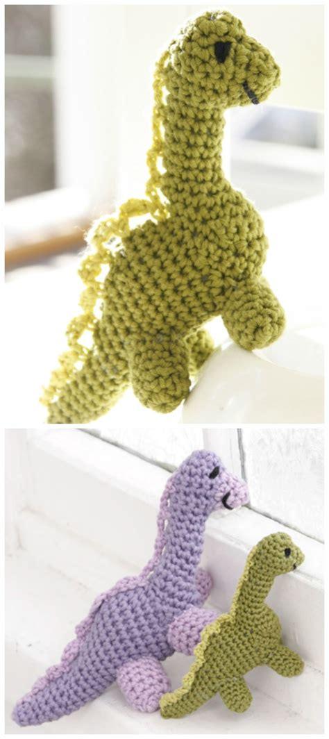 amigurumi dinosaur  crochet patterns