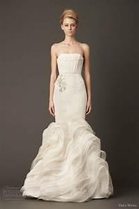 vera wang wedding dresses fall 2013 wedding inspirasi With mermaid wedding dresses vera wang