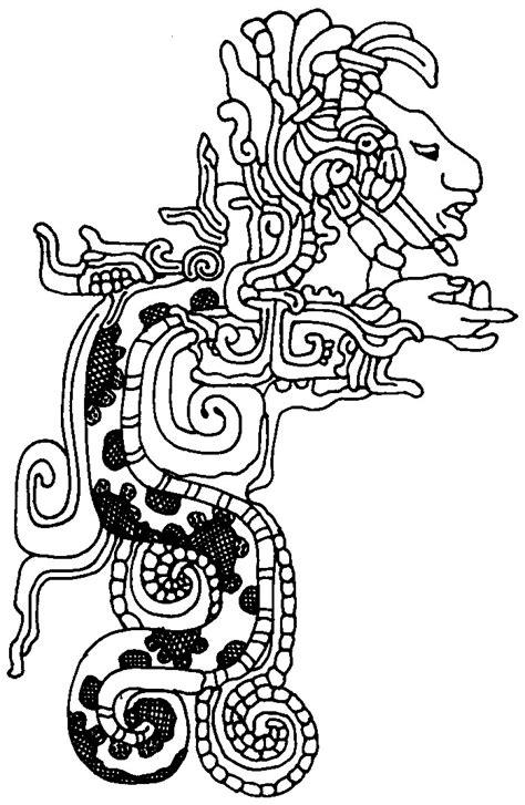 aztec coloring pages    print