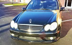 Mercedes Classe C 2005 : 2005 2007 mercedes c class c55 amg tuner front lip spoiler ~ Medecine-chirurgie-esthetiques.com Avis de Voitures