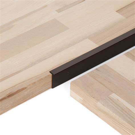 plan de travail lechner plan de travail bois ch 234 ne brut mat l 250 x p 65 cm ep 38