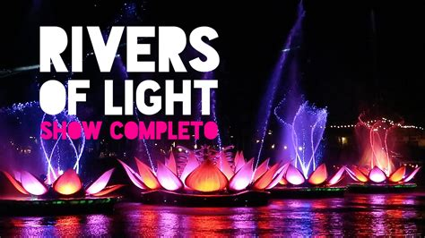 rivers of light rivers of light o show noturno do disney s animal kingdom