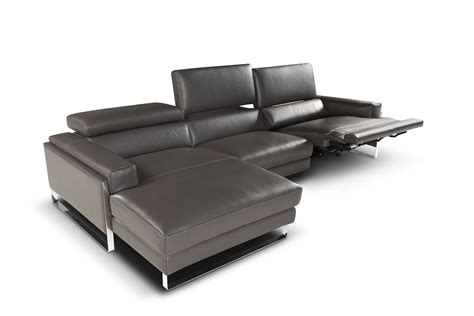 chaise a romeo modern sectional left facing chaise giuseppe giuseppe