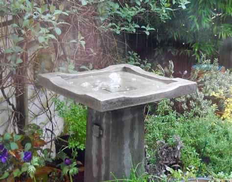 water bubbling fountain bubbler solar powered cc flickr birdbath attract moves birds wildlife flat simple move