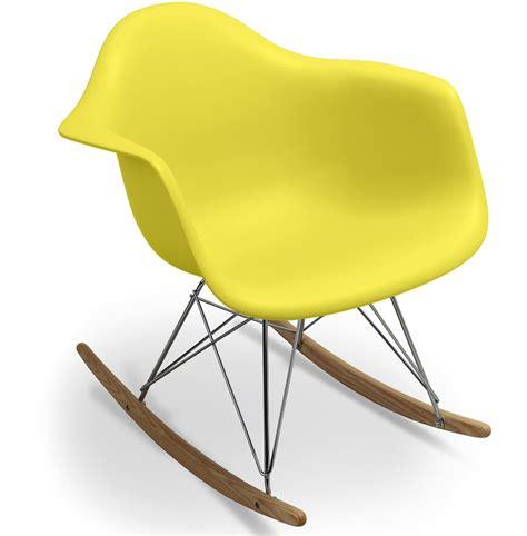 chaise a bascule jaune thesecretconsul com