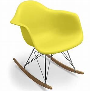 Chaise à Bascule Pas Cher : chaise bascule eames gallery of dcoration fauteuil bascule design rocking chair nice avec inoui ~ Teatrodelosmanantiales.com Idées de Décoration