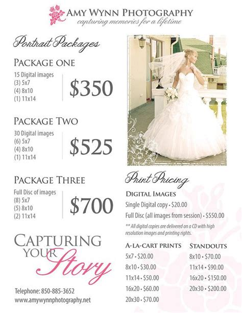 wedding photographer cost best 25 wedding photography pricing ideas on